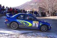 Burns Subaru Impreza WRC