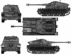 """10cm Kanone 18 auf gepanzerter Selbstfahrlafette IVa """"Dicker Max"""""""