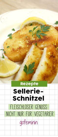 Sellerie-Schnitzel: Fleischloser Genuss nicht nur für Vegetarier