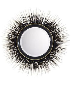 """I found this fabulous mirror. I thought to myself....""""I bet I could make that"""". I do however say that a lot so for my first Pin ever... This is the inspiration of what will be hanging in my living room a year from now."""