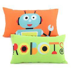 Povlak na polštář Robots, cm Mr Fox, Robots, Baby Room, Pillowcases, Kids, Day Care, Children, Young Children, Pillow Case Dresses