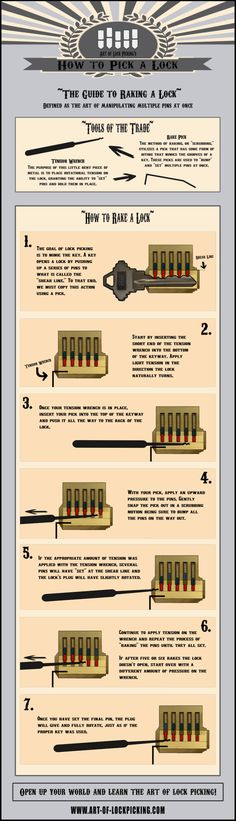 Survival and the Craft of Lock Picking