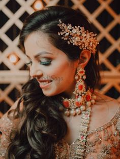 Looking for more such wedding fashion inspiration? Click on the link attached below for more such wedding fashion inspiration, ideas & trends.  #indianweddings #shaadisaga #intimatewedding #bridalfashion #bridalhairstyle #floralhairstyle Half Up Half Down, Floral Hair, Bridal Style, Bridal Hair, Wedding Styles, Hairstyle, Style Inspiration, Fashion, Moda