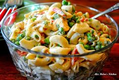 Old Fashioned Mac and Peas Salad