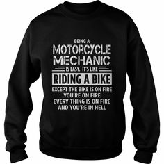 Motorcycle Mechanic, Order HERE ==> https://www.sunfrog.com/Jobs/124785640-711684796.html?6782, Please tag & share with your friends who would love it, #birthdaygifts #superbowl #renegadelife