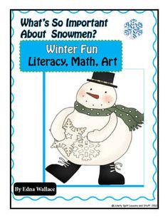 "This 19-page unit explores a classic WINTER theme that will melt your heart!  Count, sort, pattern, READ, WRITE, discuss, THINK!  Read a poem, play ""What's Missing?"" Pages may be used at centers or put together as a CLASS BOOK.  Fabulous winter learning!"