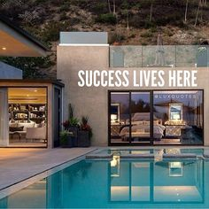 Success lives here