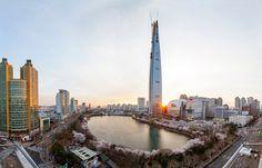 Lotte World Tower Burj Khalifa, Cn Tower, San Francisco Skyline, Engineering, Architecture, Building, Travel, Arquitetura, Viajes