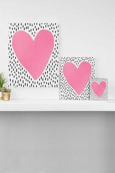 Pink HeCanvas Art Art