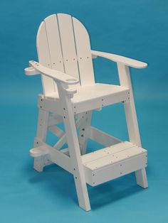 Wonderful Tailwind Furniture Recycled Plastic Small Lifeguard Chair   LG 505