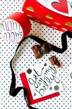 Wii vont ensemble: le chocolat M IIS pour Saint Valentin   nourriture sucre pop