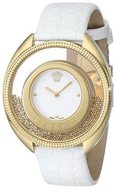"Versace Women's 86Q70D002 S001 ""Destiny Spirit"" Gold PVD Watch with Leather Band Versace http://www.amazon.com/dp/B004HY1ZVI/ref=cm_sw_r_pi_dp_IzZTub1ZR553F"