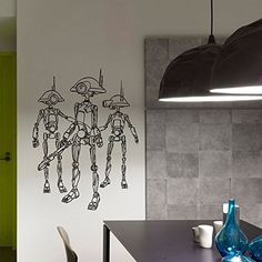 Star Wars Droid Clone Trooper Wall Decals Vinyl Stickers Home Decor Design Interior Art Mural Boys Room Kids Bedroom Dorm Z776 WisdomDecalHouse http://www.amazon.com/dp/B00VMD9GQI/ref=cm_sw_r_pi_dp_fo4ivb0BF9N67