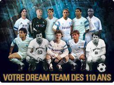 La dream team des 110 ans de l'OM