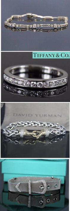 Diamond Bracelets Collection - Wedding Collection - Fashion Jewelry - Trendy Jewelry