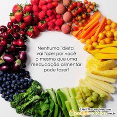#Dieta e #Reeducação Alimentar, entenda a diferença!