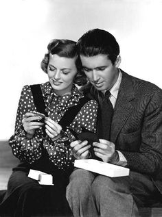 "Jimmy Stewart and Margaret Sullavan for ""The Shop Around the Corner"" (1940)"