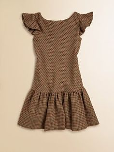 Ralph Lauren - Girl's Tweed Dress