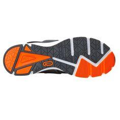 Eliofeet Men's Running Shoes, Grey/Red KALENJI - Running shoes Footwear - On...