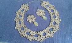 Уведомления Tatting Necklace, Tatting Jewelry, Crochet Necklace, Jewelry Sets, Projects To Try, Hair Accessories, Wall Photos, Patterns, Beads