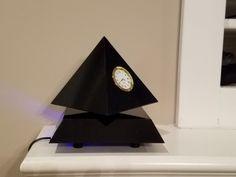 Floating Pyramid Clock