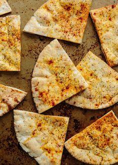 Crispy Garlic Pita Toasts   The Kitchn