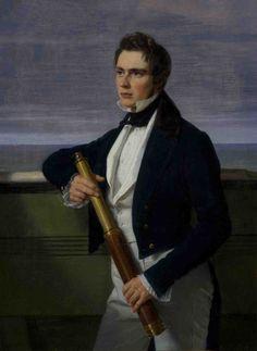 Portrait de Fritz Constantin Brun - Adam Auguste MÜLLER