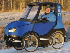 Si l'option de la voiture électrique est timidement entrée dans les mœurs, des ingénieurs du monde entier ne cessent de trouver de nouveaux moyens pour se déplacer de façon la plus écologique…