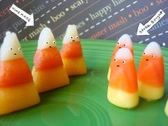 Okay, just found this one, and I'm not sure which is more amazing... that a person figured out how to MAKE candy corn at home? (for more than it costs to buy it...) or, that I am actually considering making a batch so I can make the 'homemade butterfingers bites' recipe that calls for candy corn....a viscous  cycle....(BTW--that's a joke, not a misspelled word)