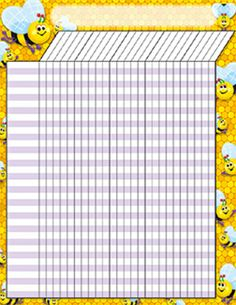 My busy bee attendance chart | Preschool Ideas | Pinterest ...