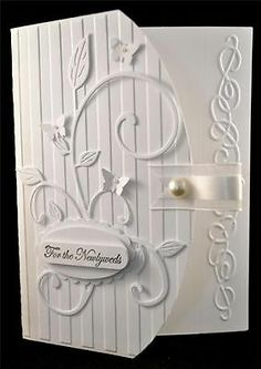 Stampin Up Card Kit White on White Elegant Fanciful Flourish Scroll | eBay