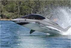SHARK SUBMARINE FOR 2 PEOPLE - http://www.gadgets-magazine.com/shark-submarine-2-people/
