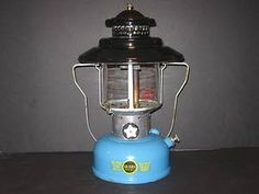 Vintage Coleman lantern made for Sears & Roebuck, 1964.