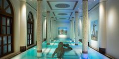 Terme Manzi Hotel & Spa: The 17,000-square-foot destination spa has an indoor pool filled with water from the spring.