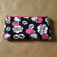 Premium Pencil case made from Hello kitty by AlannaAccessories