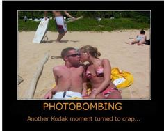 Photo Bomb!! You go boy!! :)