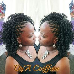 """506 Likes, 5 Comments - Dy'A Coiffure (@dyacoiffure) on Instagram: """"#crochetbraid #quadrillage #coiffure #hairstyle #softdread #supreme #curl #protectivestyles…"""""""