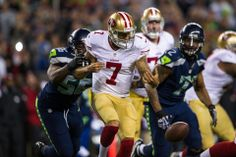 Week 2: Cliff Avril disrupts Colin Kaepernick.