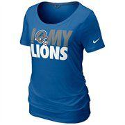 Nike Indianapolis Colts Ladies Team Dedication Tri-blend Premium T-Shirt -  Royal Blue d04eb213e