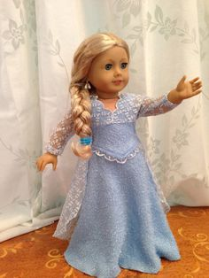 Frozen  Princes Elsa dress. by SmallWorldCouture on Etsy, $49.00
