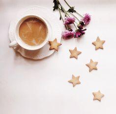 星空クッキーとコーヒー