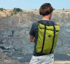 Simple rolltop backpack by Braasi Industry