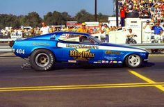 The BLUE MAX Funny Car