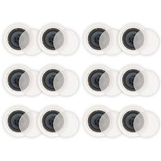 Blue Octave BDC62 In Ceiling 65 Speakers 2 Way Home Theater Surround Sound 6 Pair Pack >>> Continue to the product at the image link.Note:It is affiliate link to Amazon.