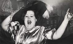 Norma Devine as Mae West at Sammy's in 1944 Weegee captured an iconic era of the Bowery, New York – in pictures Weegee Photography, Street Photography, Lower East Side, Tom Hanks, Stanley Kubrick, Nocturne, New York, Mae West, Expositions