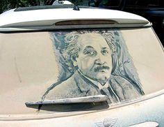 Dirty Car Art by Scott Wade