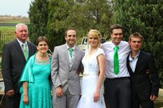 Groom's family Picnic, Groom, Suit Jacket, Breast, Suits, Jackets, Wedding, Fashion, Mariage