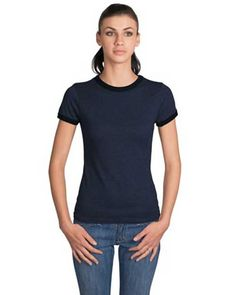 A spin on the classic t-shirt, this vintage-looking piece is perfect for any occasion. In an array of fashionable colors and at a price that's hard to refuse, this shirt is a must have for any young woman.