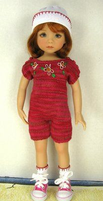 """Dianne Effner Little Darling """"13 Doll Outfit """"Tumbletime"""" by Janet 