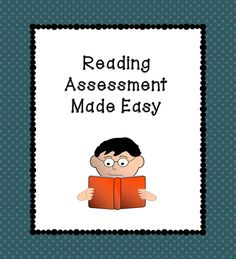 A reading assessment that is easy and quick to use! Quickly assess your students' reading level, fluency, reading strategies, comprehension and more! $